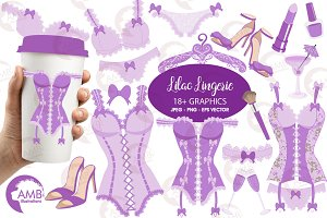 Purple Bachelorette Clipart,AMB-2210