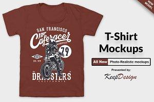Apparel T-shirt Mock-up Set 1