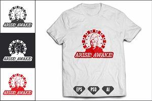 Vivekananda's Inspirational T-Shirt