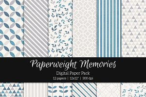 Patterned Paper - Thinking out Loud