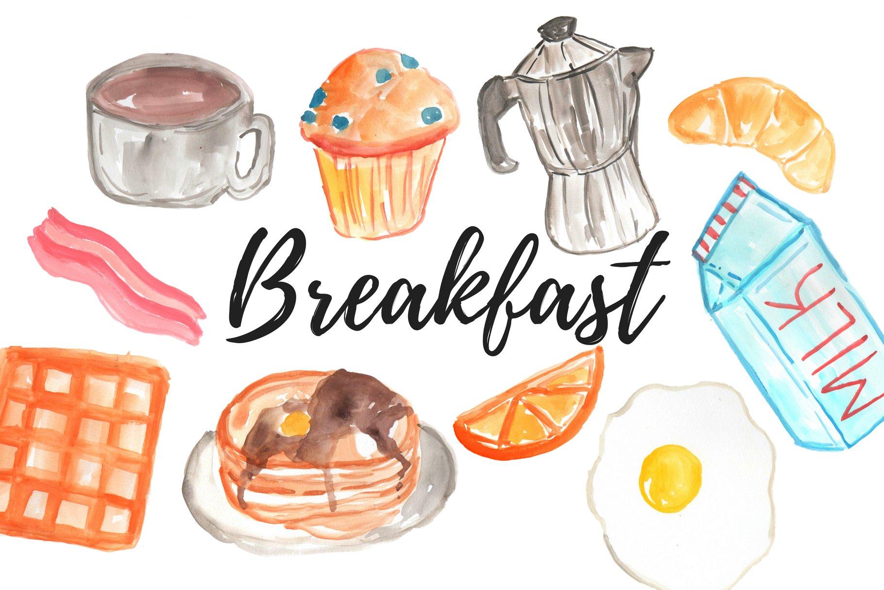 Image result for breakfast clip art
