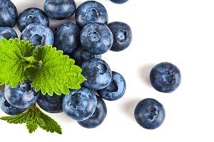Blue berry close up