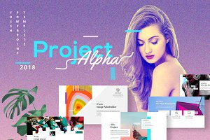 Project Alpha - Creative Powerpoint