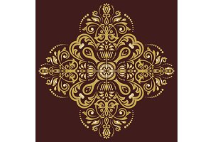 Orient Vector Pattern. Abstract