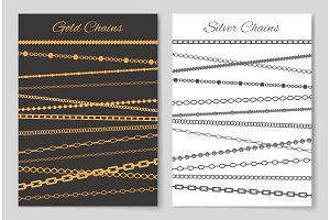 Gold and Silver Chains Advertisement
