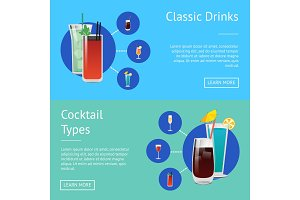 Classic Drinks Cocktail Types