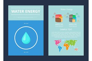 Water Energy Poster Collection