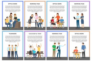 Office Work and Working Task Vector