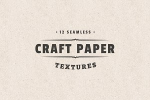 Seamless Craft Paper Textures