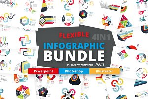 Flexible Infographic Bundle 60% OFF