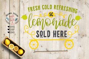 Fresh Lemonade Sold Here