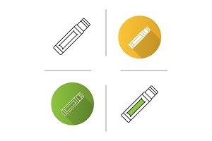 Chewing gum stick icon