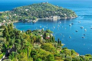 Mediterranean sea French riviera Sum