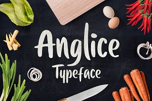 Anglice - Handwritten Font (40% OFF)