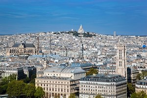Paris, France: city view