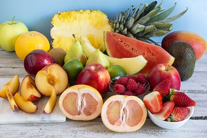 Varied fresh fruit