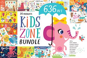 KIDS ZONE BUNDLE. 88% OFF!