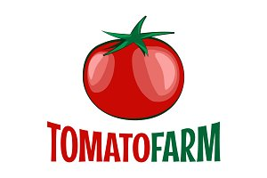 Tomato logo on white background.