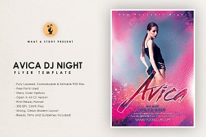 Avica DJ Night Flyer