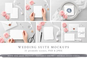 NEW! Wedding Suite Mockups