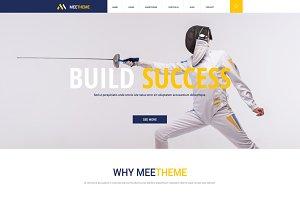 MeeTheme - 2 OnePage PSD $2!!!!