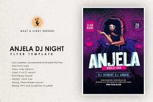 Anjela DJ Night