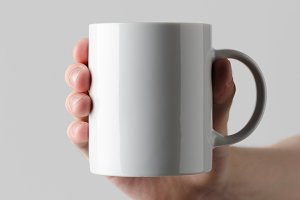 Mug Mock-Up - Hands Holding