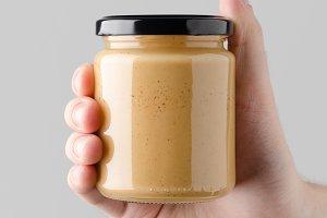Peanut / Almond / Nut Butter Mock-Up