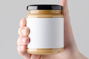 Peanut / Almond / Nut Butter Mock-Up