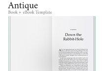 Antique - Ultimate Book Template