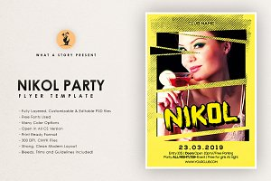 Niklo Party Flyer