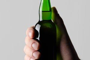 Miniature Spirits / Liquor Mock-Up