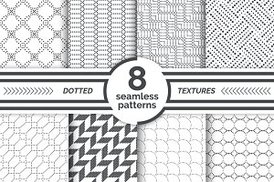 Modern small dotted patterns