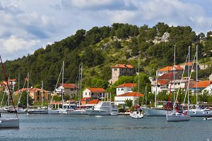 Skradin is a small historic town in