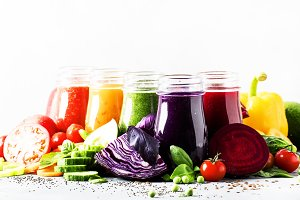 Food and drinks, selection of health