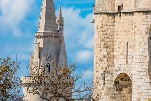 Ancient fortress of La Rochelle Fran