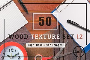 50 Wood Texture Background Set 12