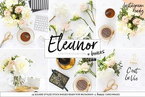 Styled stock BUNDLE social media