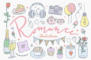 Romance Illustrations
