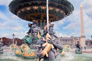 Fountain in Jardin des Tuileries