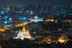 Golden Mount and Ananta Samakhom Thr