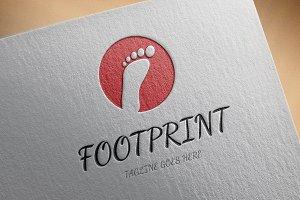 Footprint Logo Template