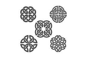 Vector celtic knot. Ethnic ornament