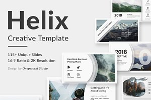 Helix Creative Google Slide Template