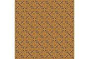 Seamless Celtic knot infinity