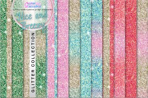 Nice and Breezy glitter collection