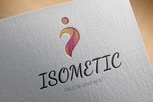 Isometric Logo Template