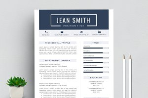Resume/CV Template & Cover Letter