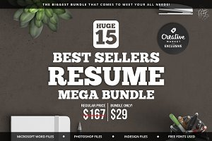 Best Sellers Resume Mega Bundle