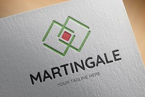 Martingale Logo Template